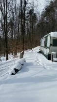 Outside of Camper