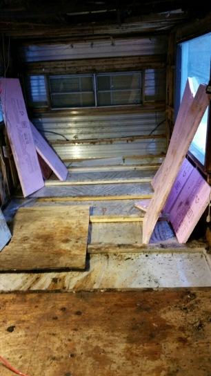 Old gross floor